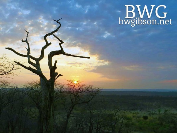 Hwange Sunset.
