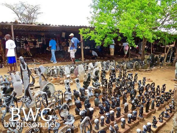 Zimbabwe Curio Market